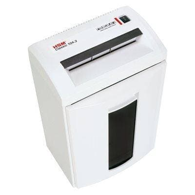 HSM Classic 104.3 Strip Cut Shredder (DISCONTINUED) Shredders HSM