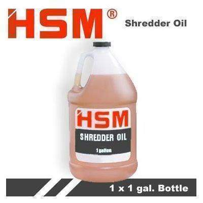 HSM 315 Shredder Oil - 1 Gallon Supplies HSM