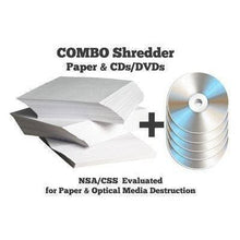 Load image into Gallery viewer, DCS 36/6 High Security COMBO Paper and Optical Media Shredder