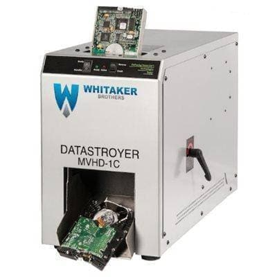 Datastroyer MVHD-1C Hard Drive Destroyer with Chute
