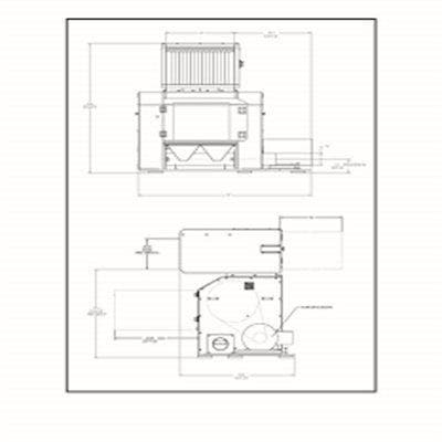 Cumberland CT-50120 Tangential Granulator (CT500 Series)
