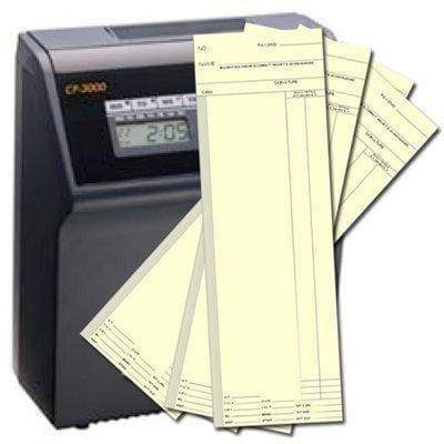 Weekly Time Cards for the Amano CP-5000 or CP-3000 Time Clock Supplies Amano