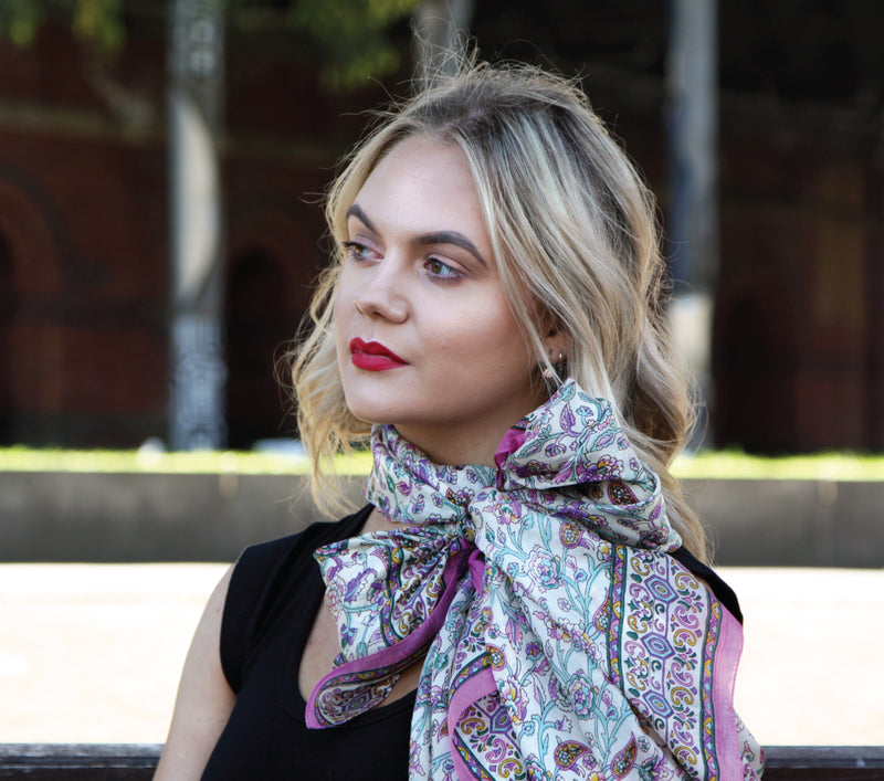 Discover Silk Scarves