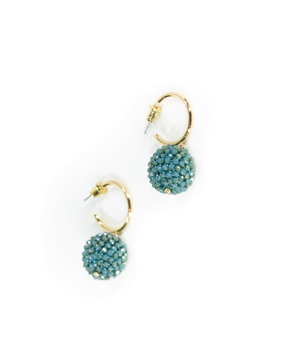 EARRINGS - Adagio Teal