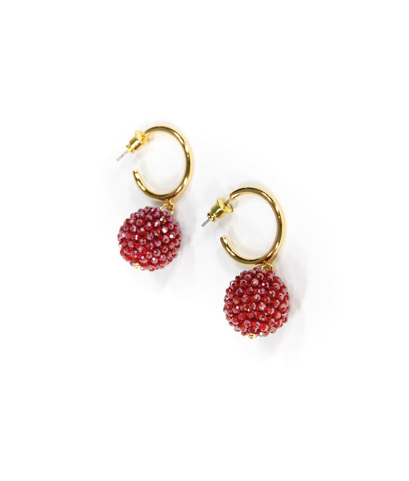 EARRINGS - Adagio Raspberry