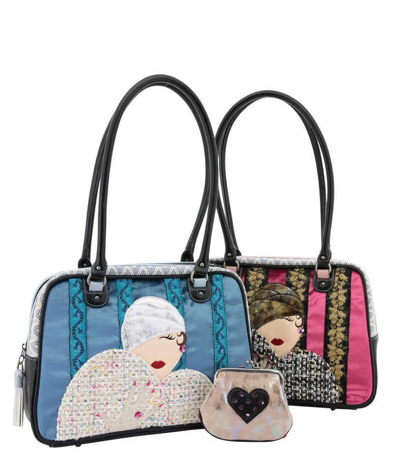 ZANDRA Shoulder Bag - Queen of Hearts Pink