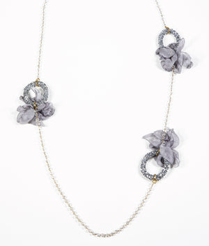 NECKLACE - Glamour Silver