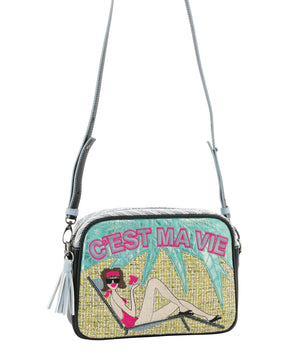 BETTY Crossbody Bag - Queen of Hearts