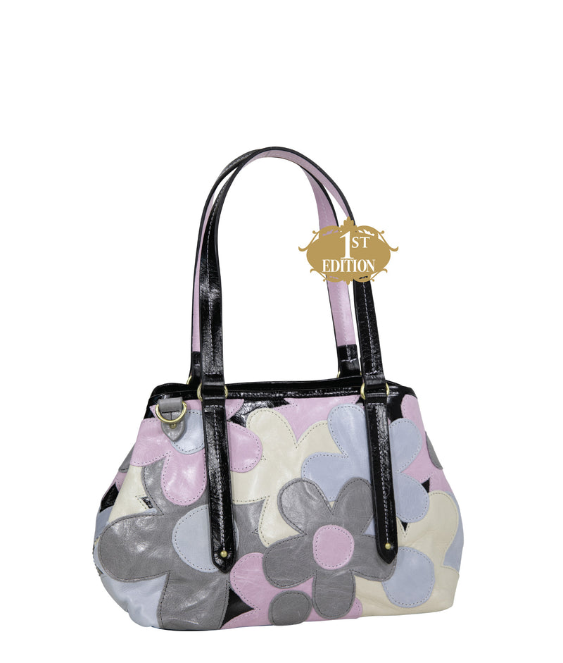 CARLOTA MINI Leather Tote - Garden of Eden - 1st Edition