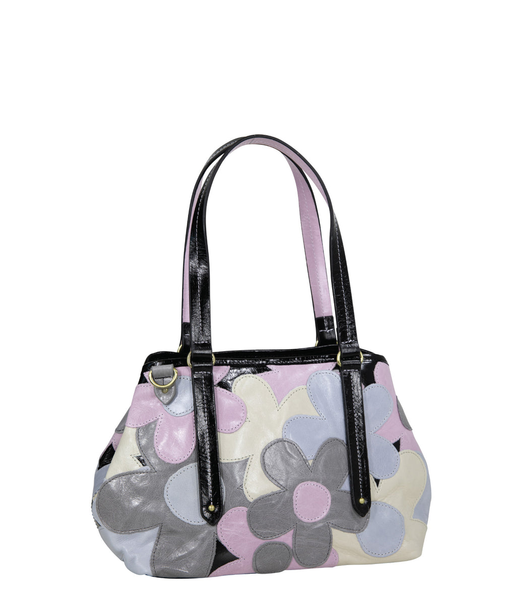 CARLOTA MINI Leather Tote - Garden of Eden