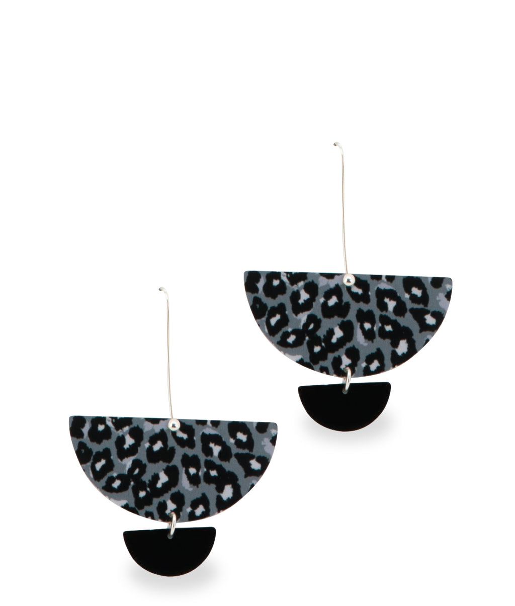 DROP EARRINGS - Black Chandelier