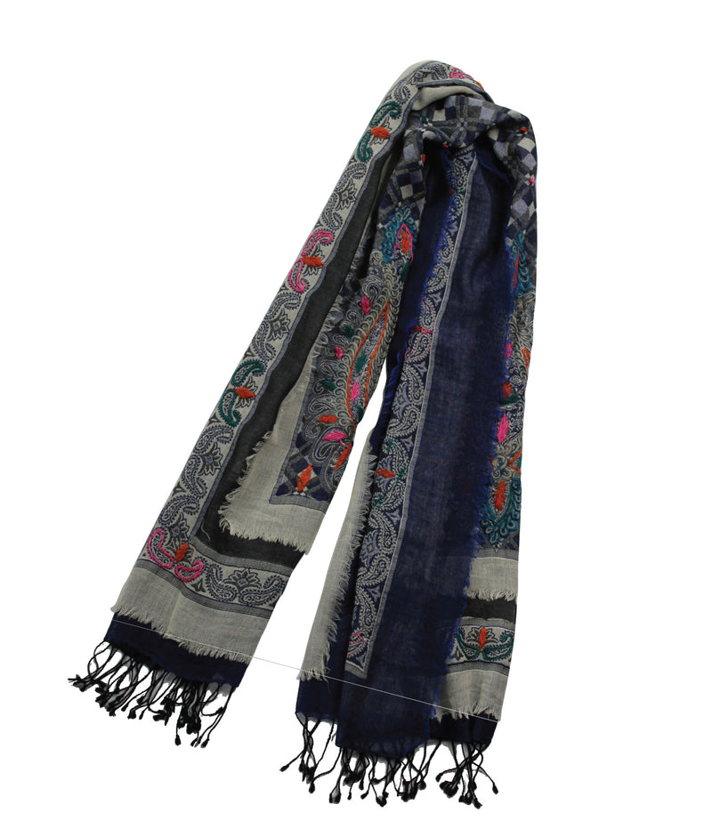 EMBROIDERED SCARF - Marrakesh