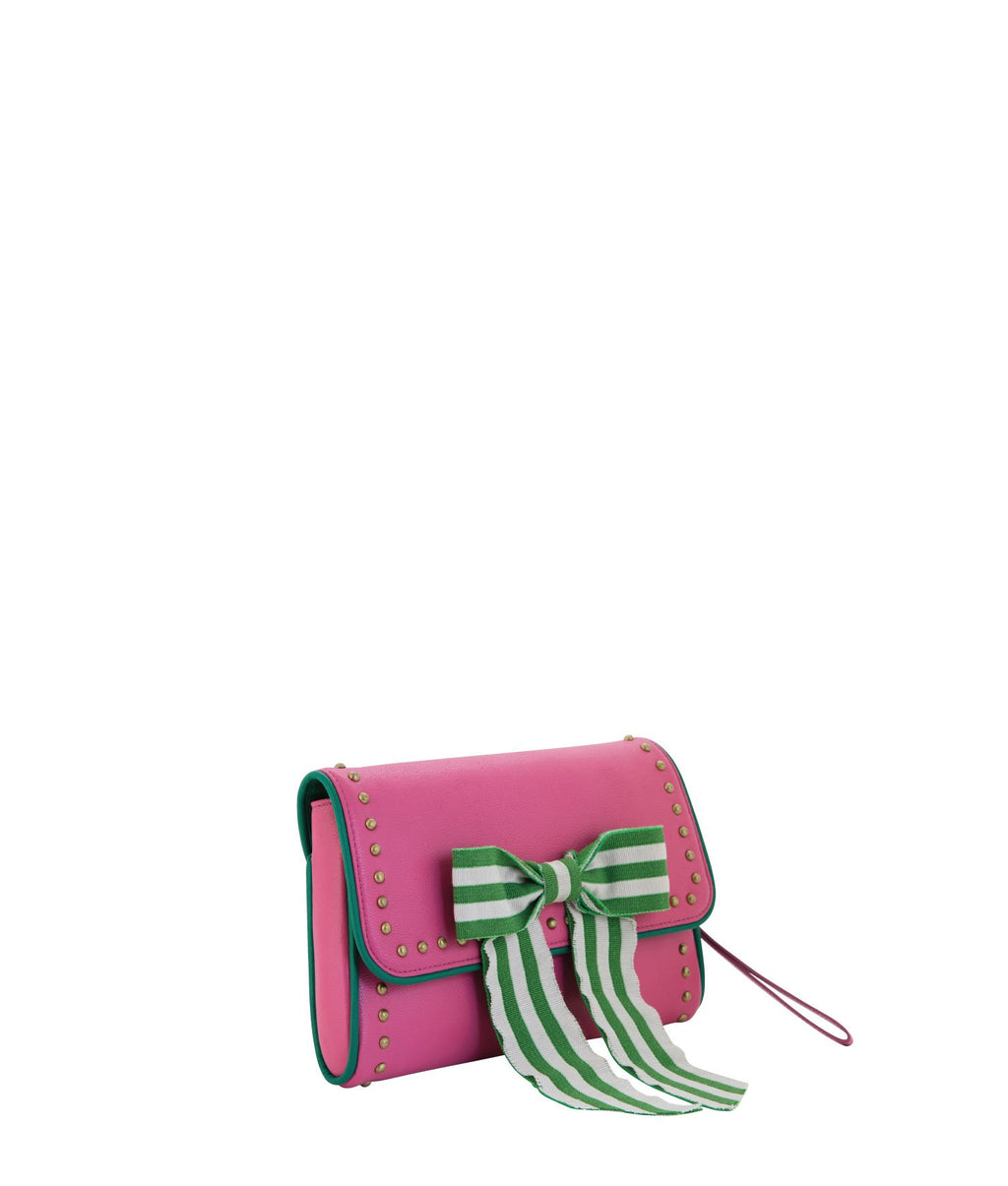 MAUDE Clutch - Pink Champagne