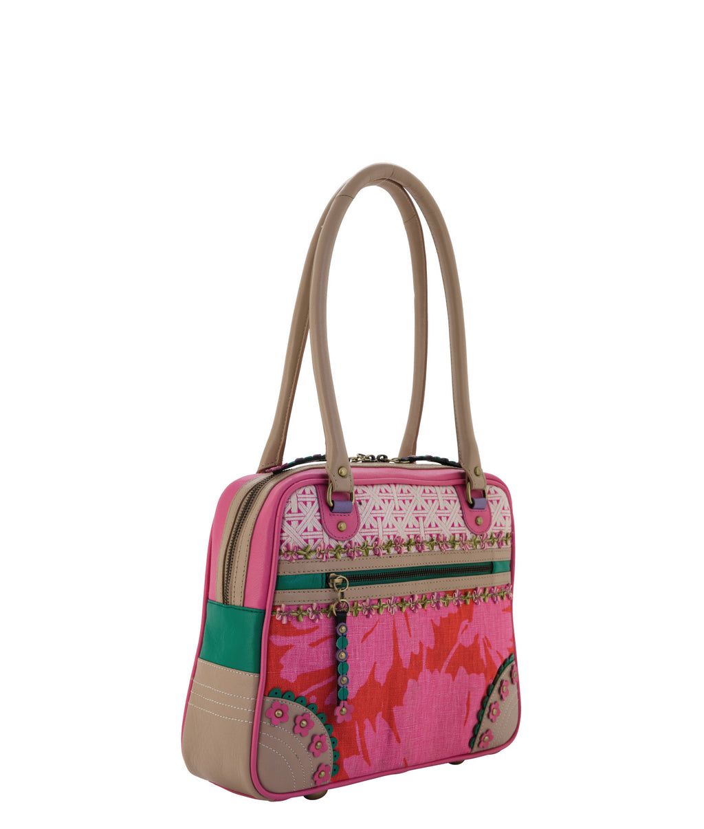 NINA Shoulder Bag - Pink Champagne