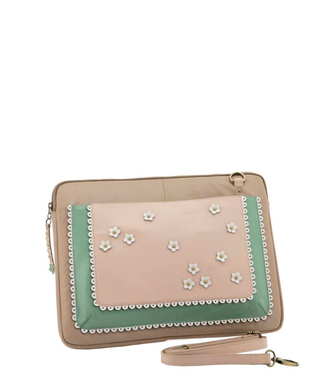 PEGGY Laptop Bag - Ballet Slipper