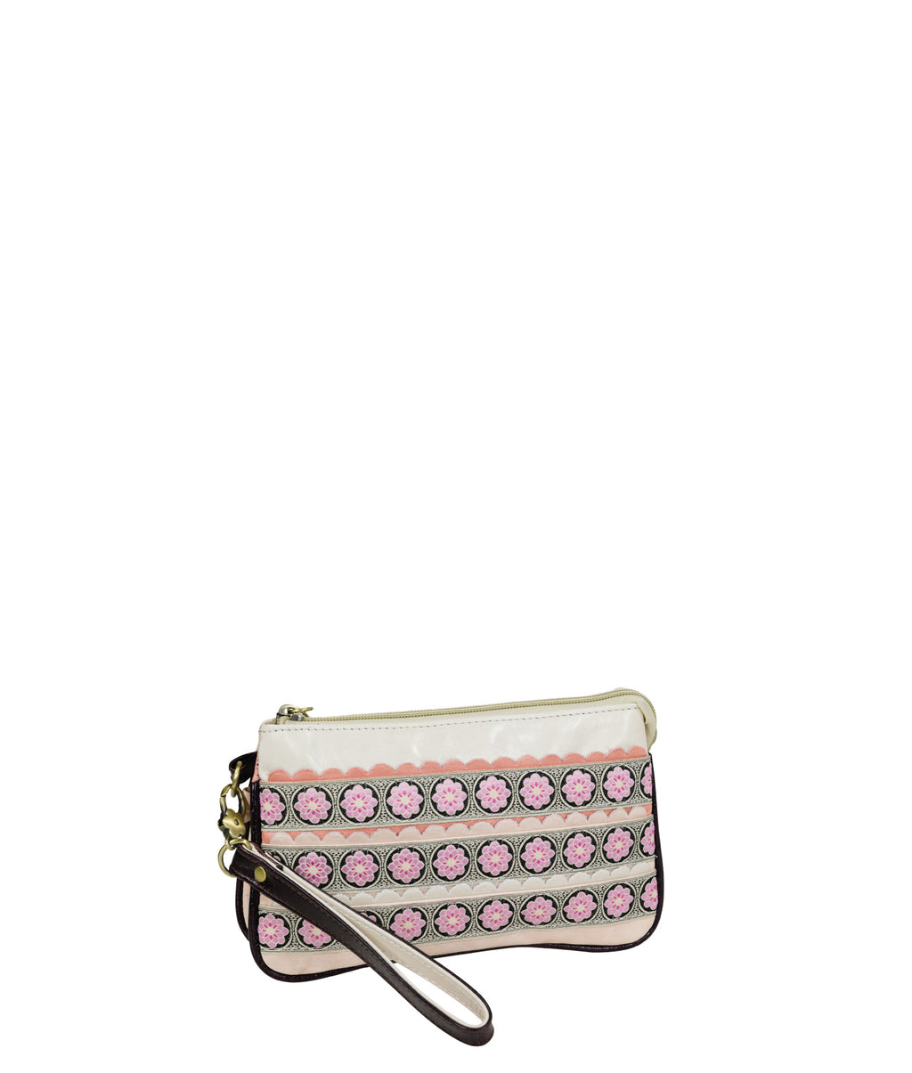 POPPY Crossbody Clutch - Tea Party
