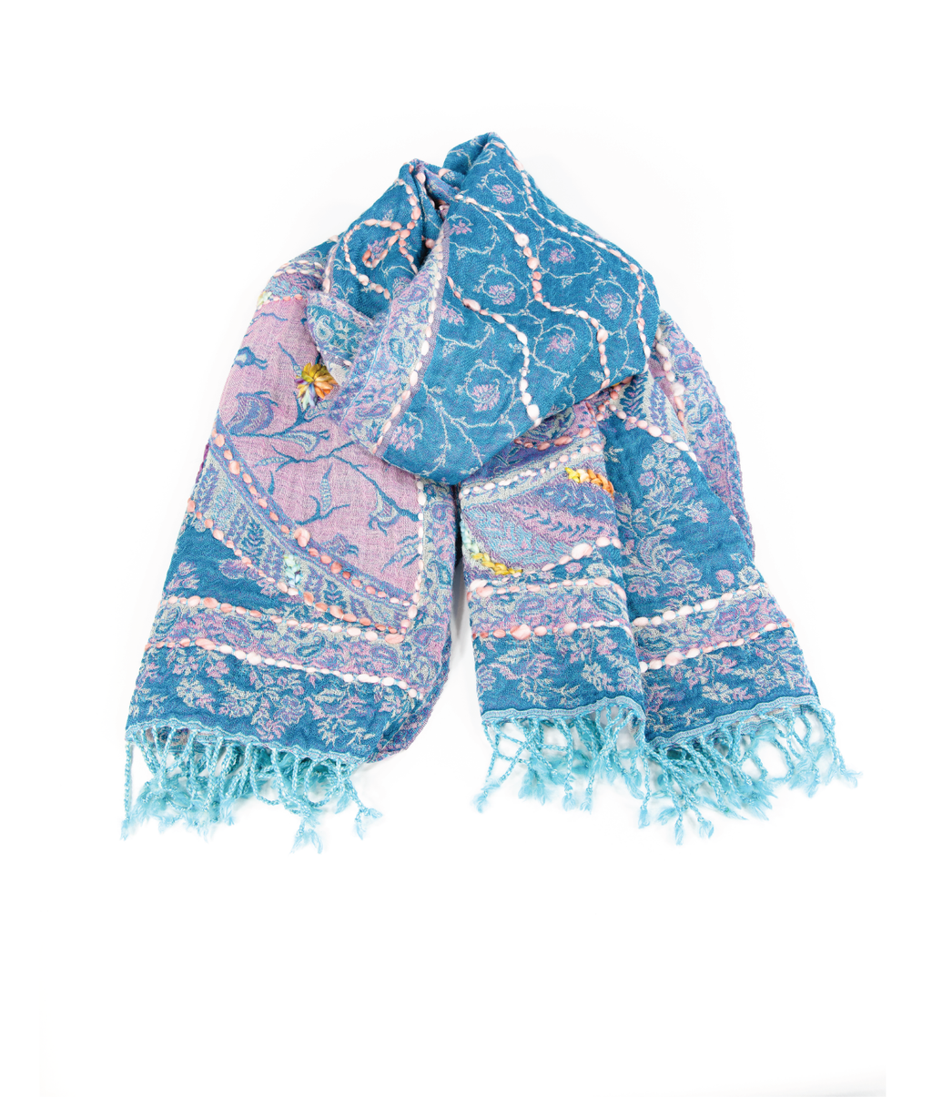 WOOL Scarf - Botanical