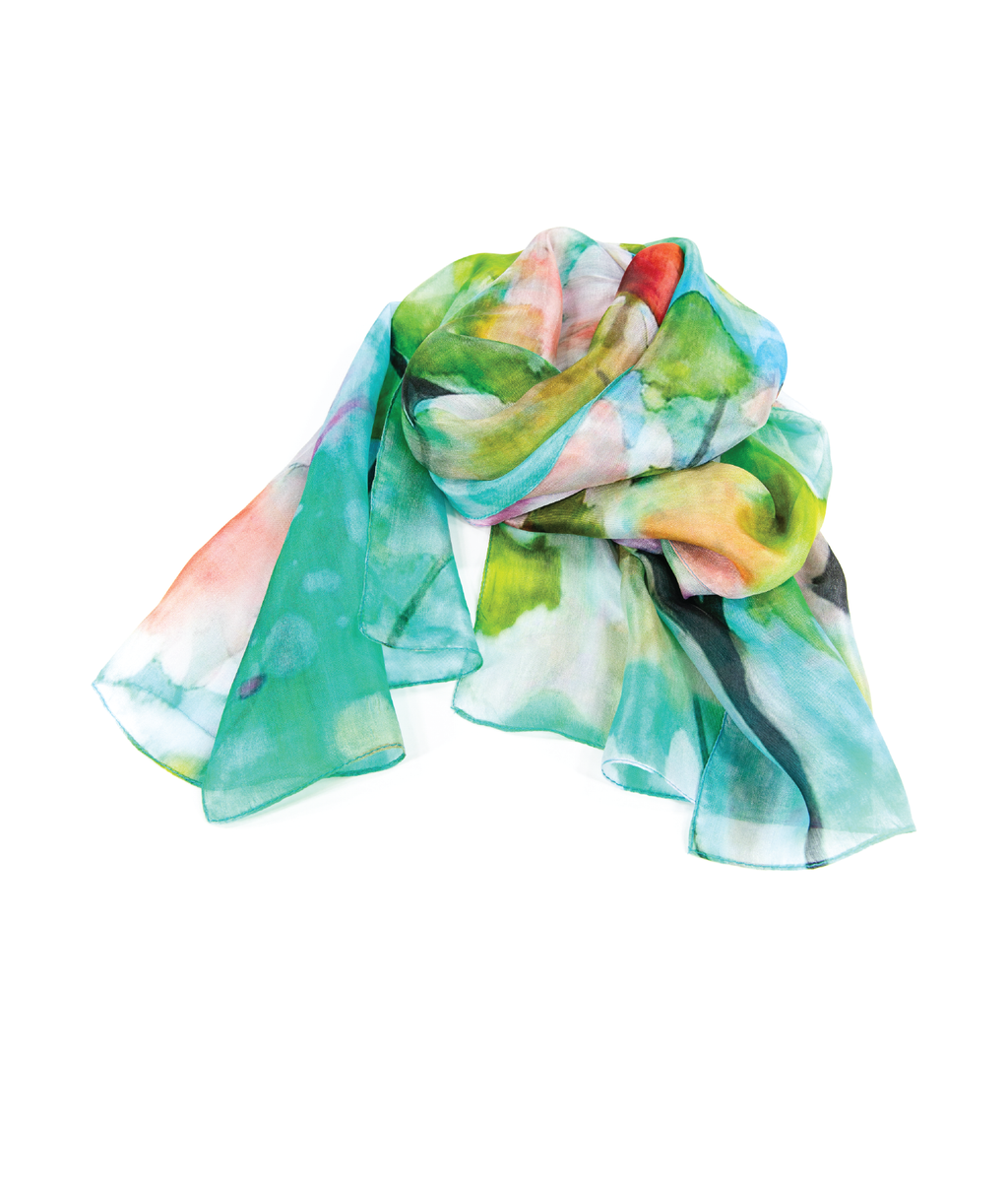SILK Scarf - Jungle Fever