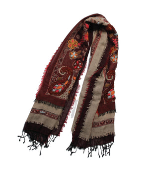 EMBROIDERED SCARF - Sombrero