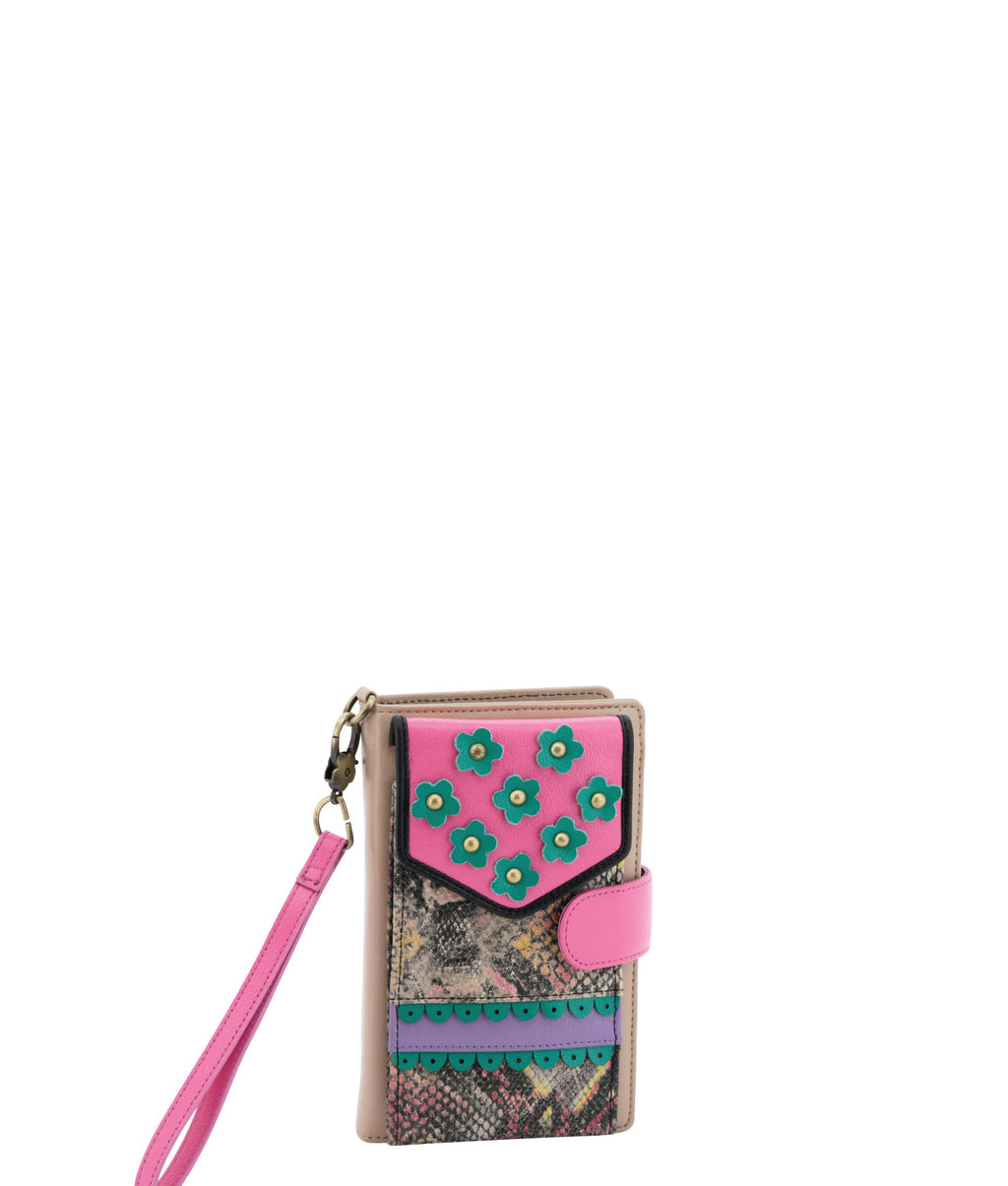TRIXEY Wallet - Pink Champagne