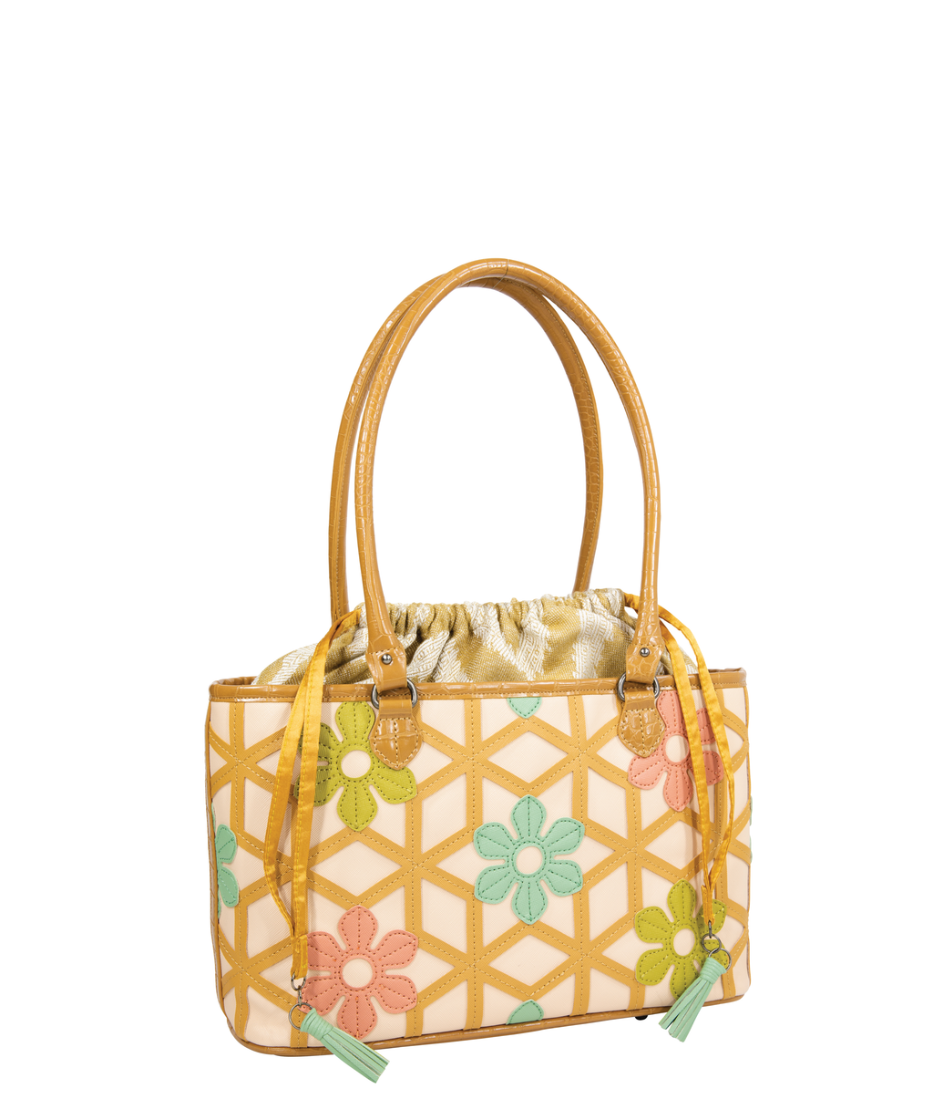FLORA Basket Bag - Babylon