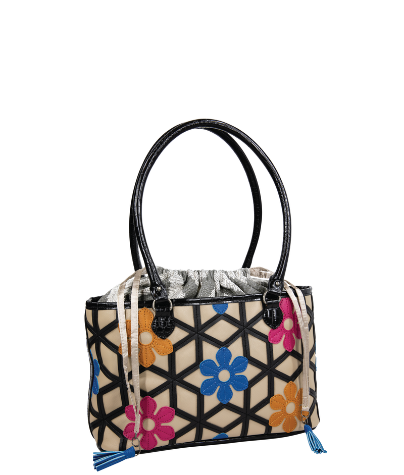 FLORA Basket Bag - Persia