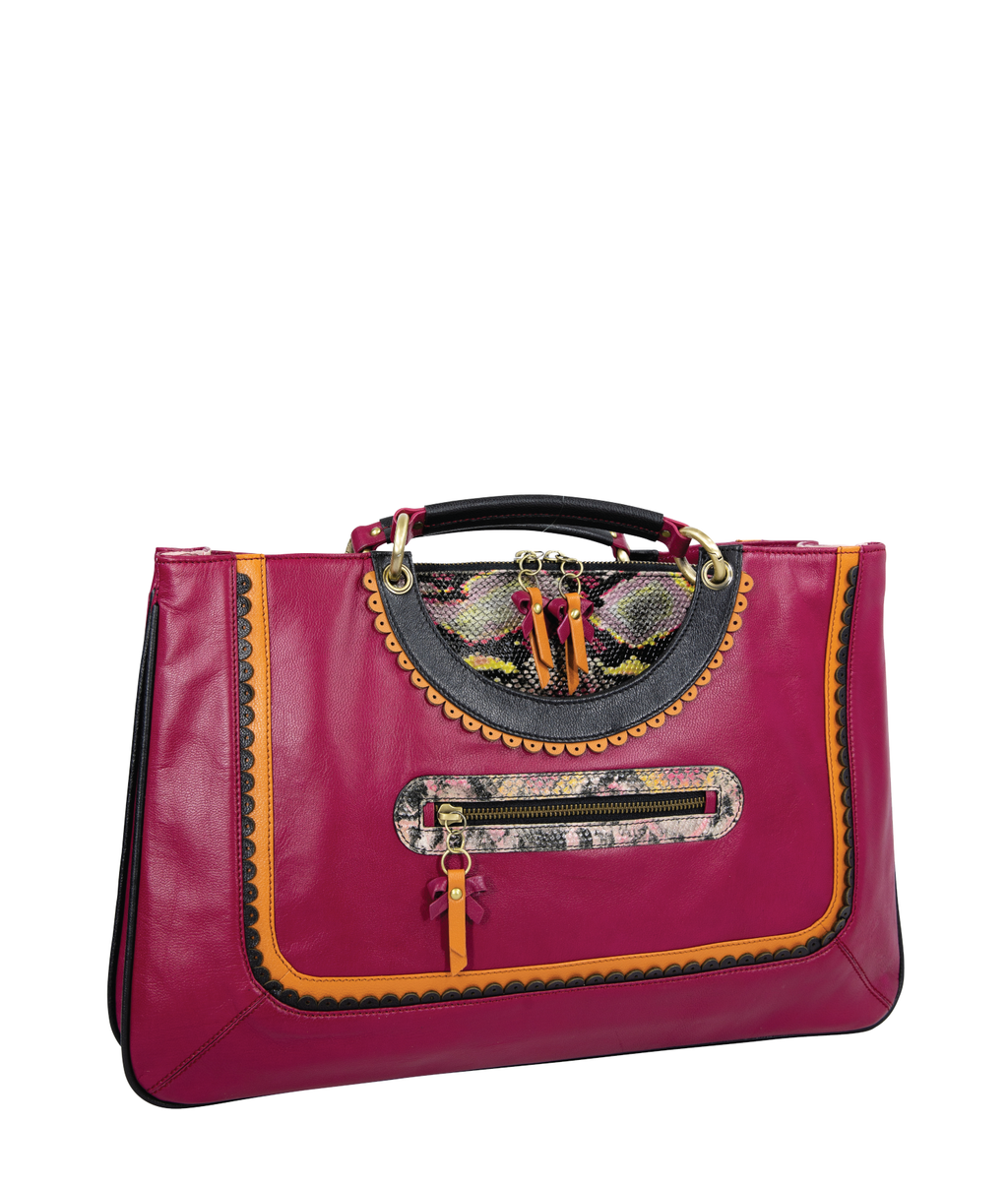 KISMET Work Bag - Berry