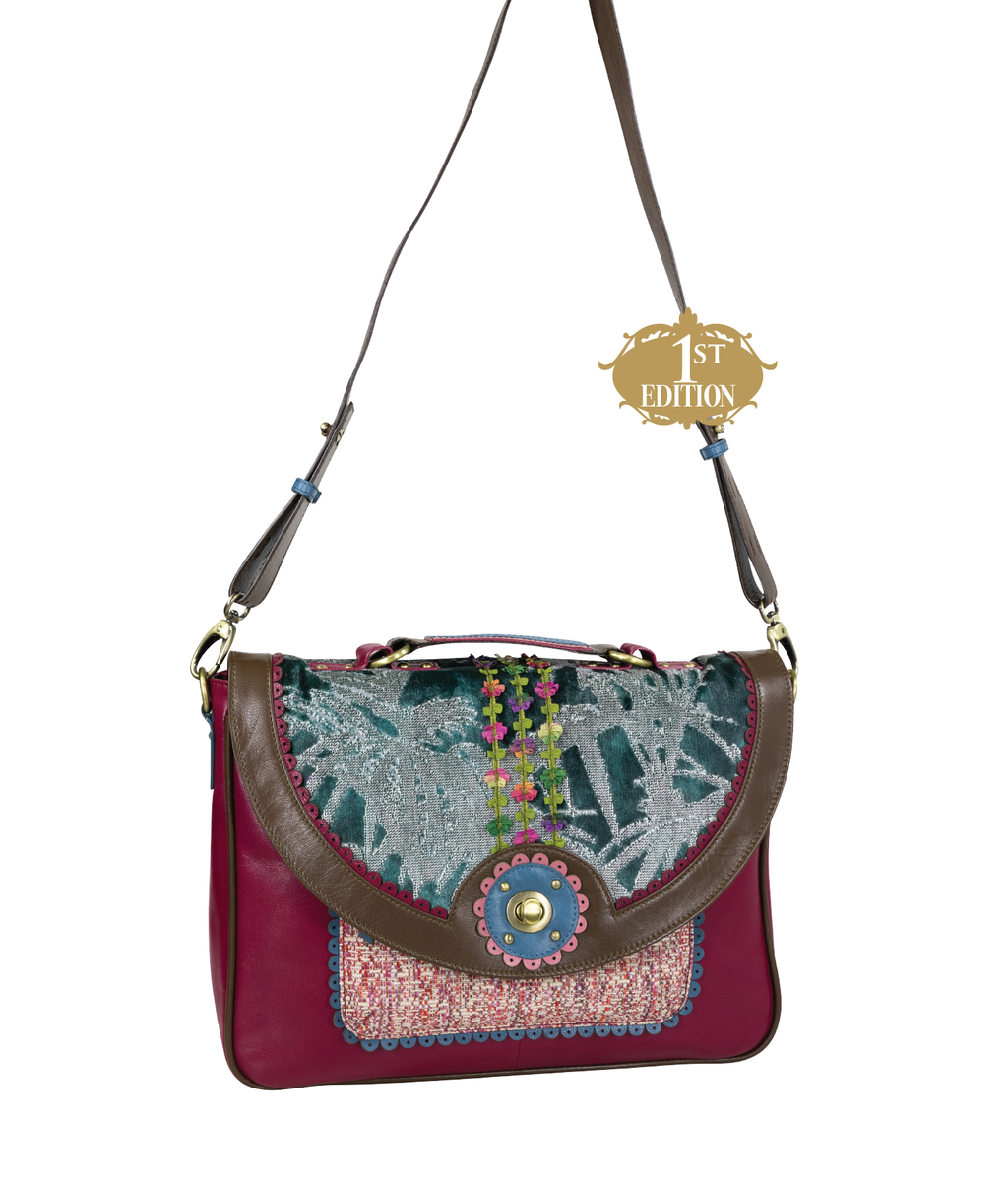 MAGDALENA Crossbody Satchel - Botanical - 1st Edition
