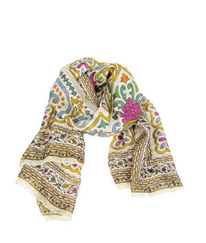 SILK Scarf - Butterscotch