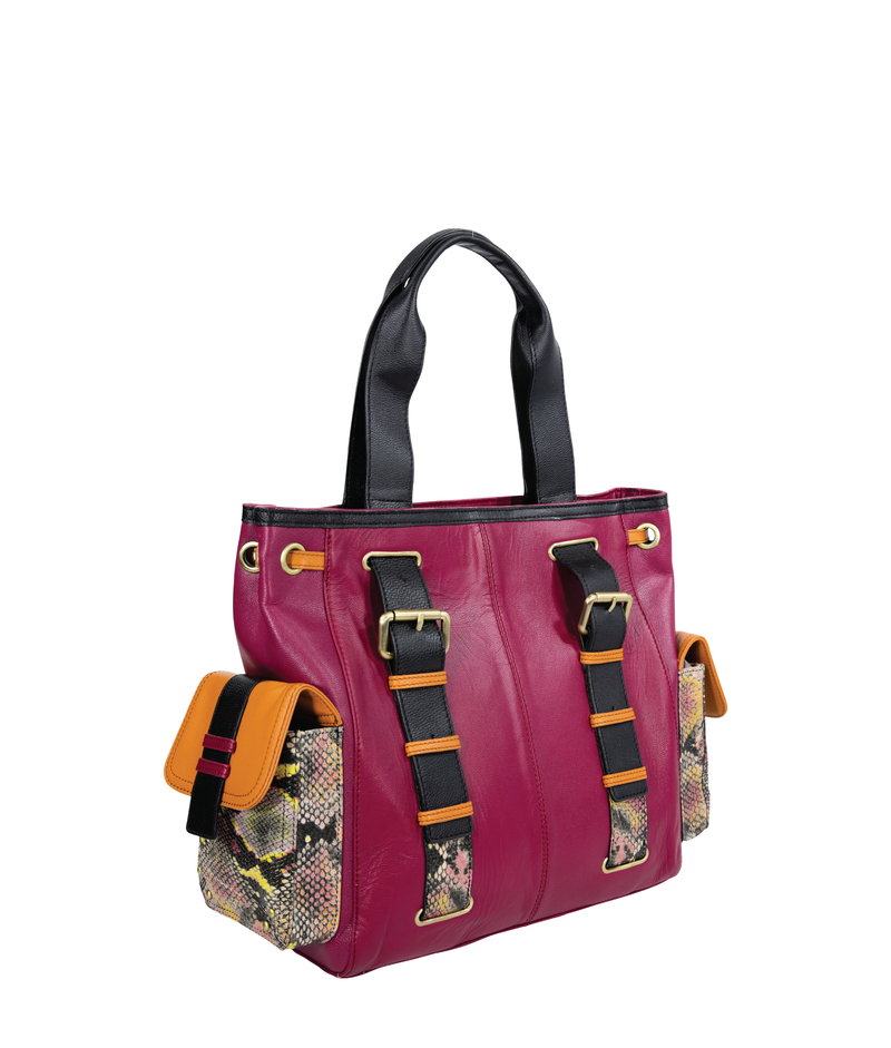 SYBELLA Carry All Tote - Berry
