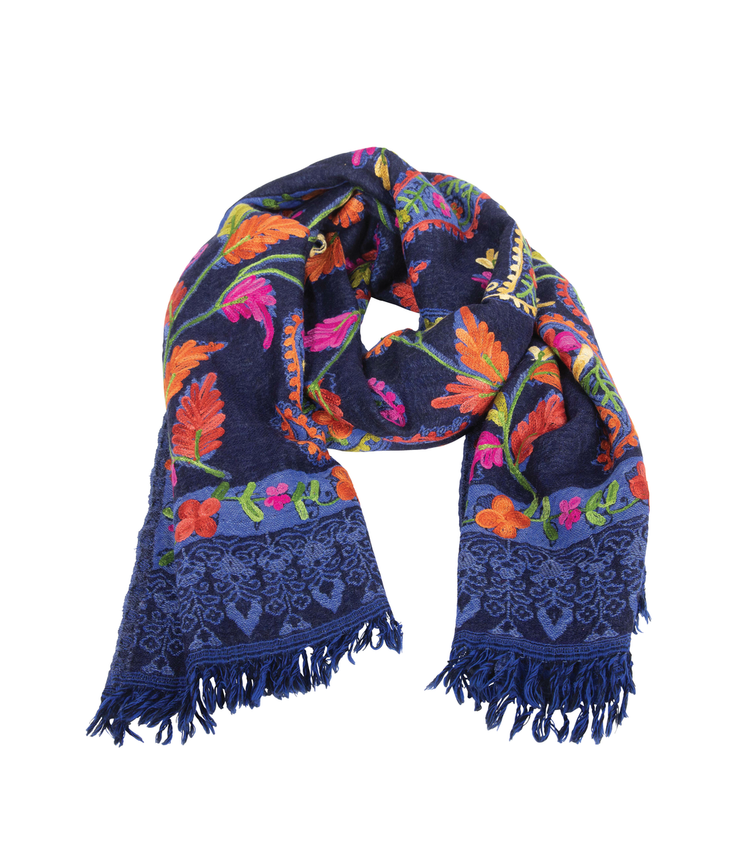 WOOL Scarf - Indigo Sunset