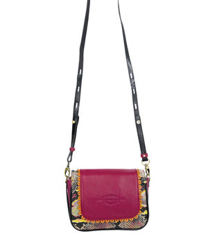 LILY Mini Crossbody - Berry