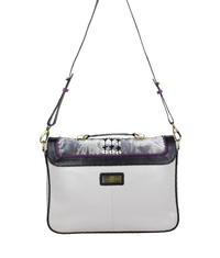 MAGDALENA Crossbody Satchel - Twilight