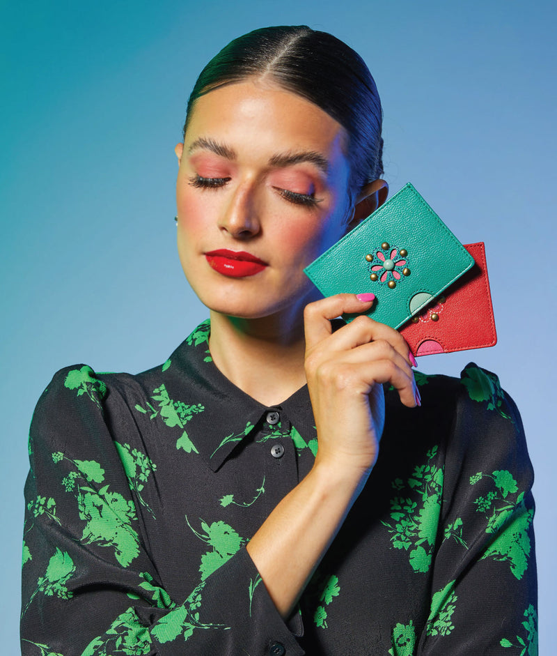 MITZI Card Holder - Jungle Fever