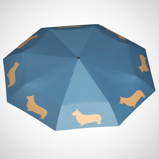 The San Francisco Umbrella Company - Welsh Corgi Mini Foldable Umbrella
