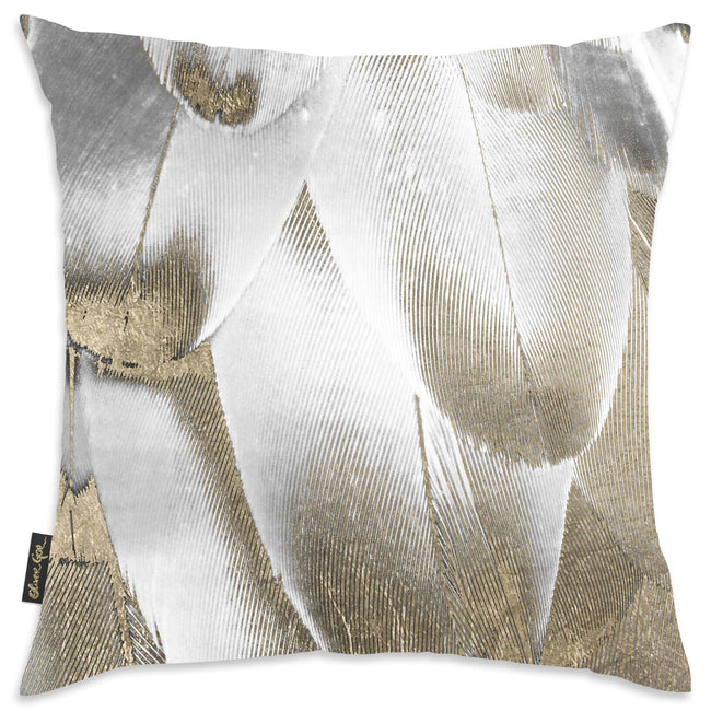 The Oliver Gal Artist - Oliver Gal 'Royal Feathers' Decorative Pillow