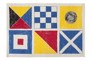 THOMASPAUL - Flags Bath Mat - Multi