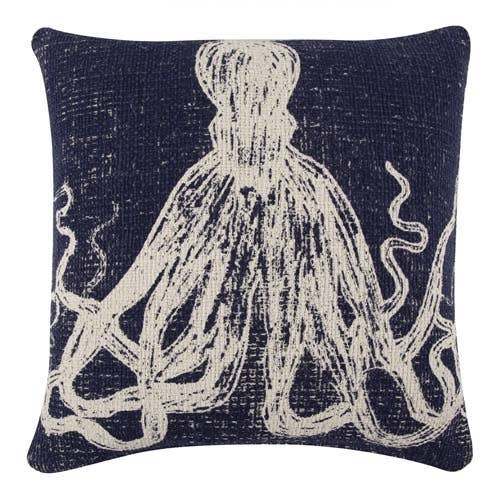 THOMASPAUL - Octopus Sketch Pillow - Navy Case