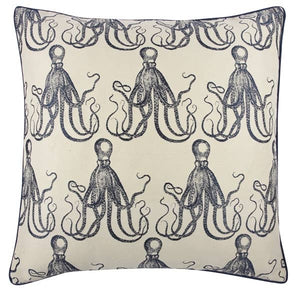 "THOMASPAUL - Octopus Jacquard Pillow - 22"" x 22"""