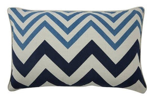 THOMASPAUL - Zig Zag Pillow - Azure Case