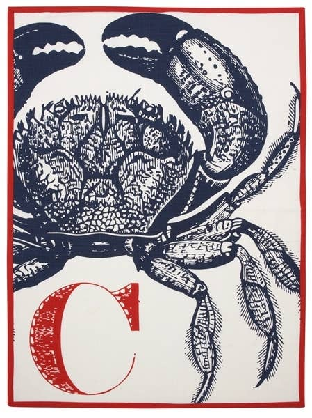 THOMASPAUL - C Crab Tea Towel
