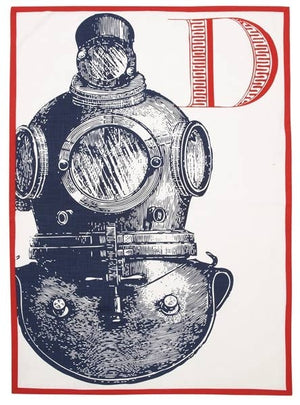 THOMASPAUL - D Diver Tea Towel