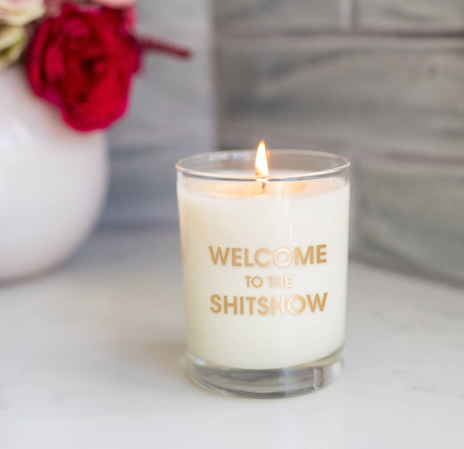 Welcome to the Shitshow  Candle on the Rocks