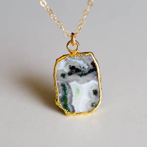 Leslie Francesca Designs - Solar Quartz Necklace