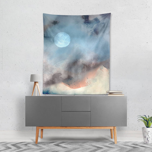 The Oliver Gal Artist - Oliver Gal 'Blazing Moon' Tapestry