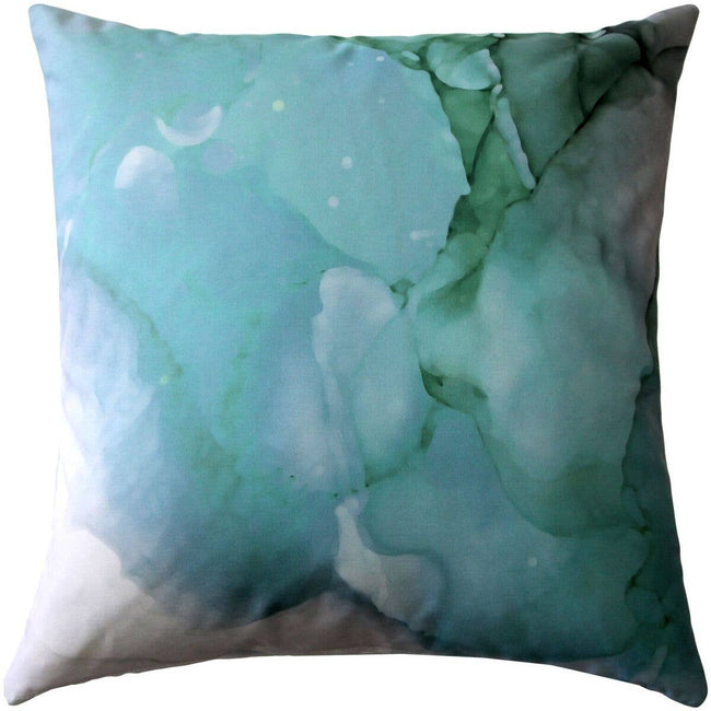 "Pillow Decor - 20"" x 20"" Karalina Amazonite Throw Pillow"