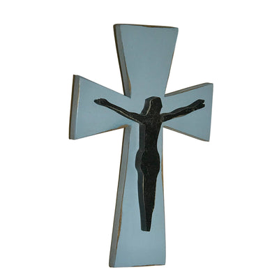 Solid Wood Crucifix Wall Cross