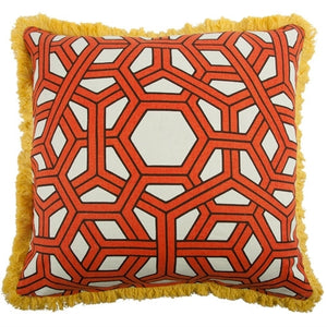 Hexagon Pillow - Alcazar Case