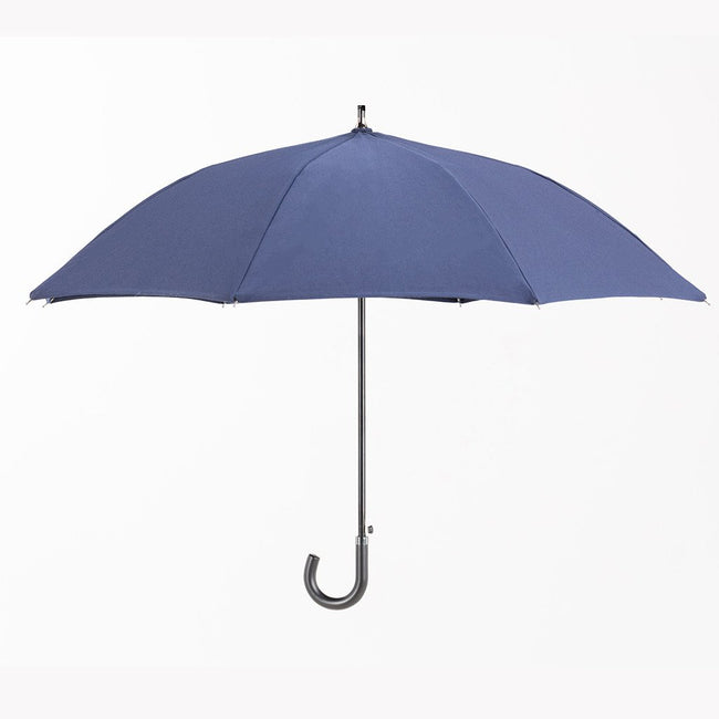 "The San Francisco Umbrella Company - Sunbrella™ Personal Size Sun & Rain Protection ""Navy Blue"""