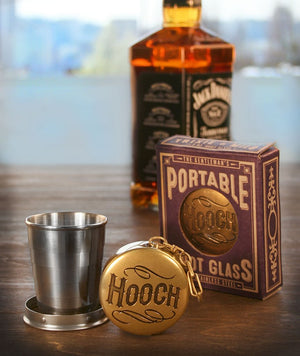 Trixie & Milo -  Portable Shot Glass - Hooch!
